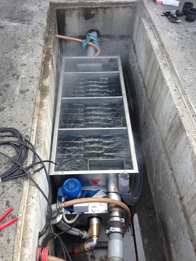 Echangeur de chaleur des eaux usées