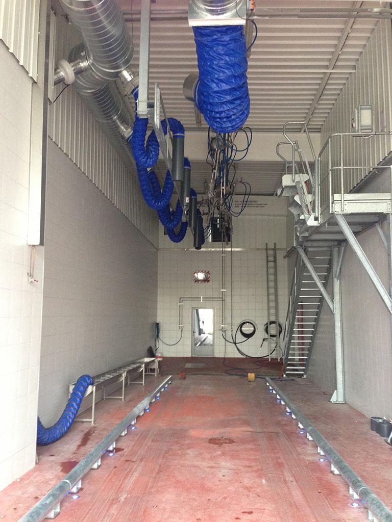 Piste de lavage interne 1 - TEC Concept Ghislenghien Tank cleaning specialist Lavage de camion citerne