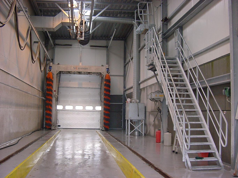 Station de lavage combinée VIC oscillant mobile et lavage interne - TEC Concept Ghislenghien Tank cleaning specialist