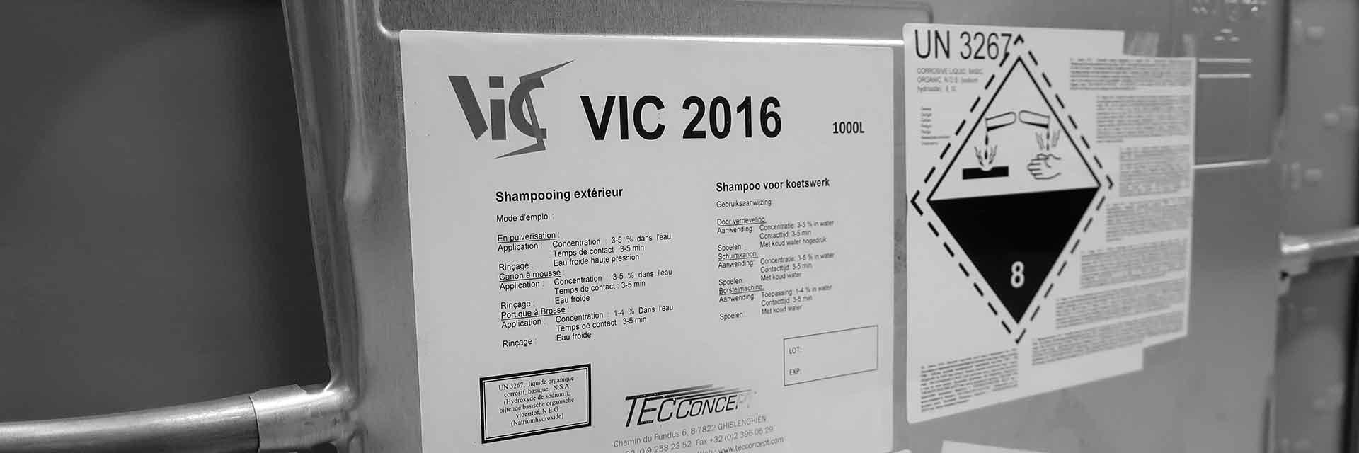 Détergents VIC - TEC Concept